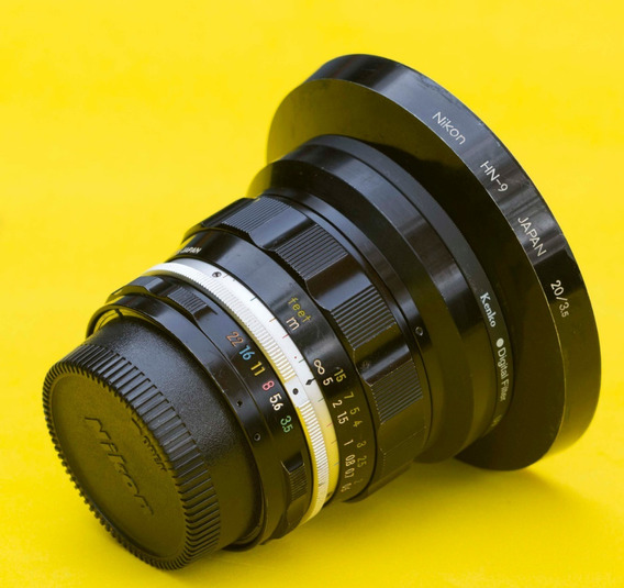 Nikon 20mm 3.5 Ud Non Ai