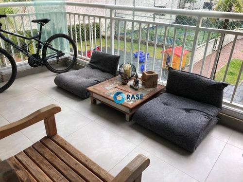 Apartamento À Venda, 81 M² Por R$ 659.000,00 - Campo Grande - São Paulo/sp - Ap11624