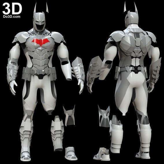 Archivos Stl Para Impresión 3d - Batman Traje Completo Arkham Knight