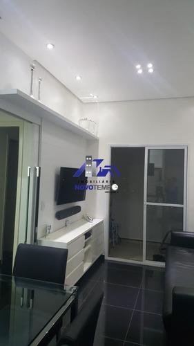 Apartamento À Venda, Dois Dormitórios, Sendo Um Suite, - Edifício Play Barueri - Ap00590 - 68430158