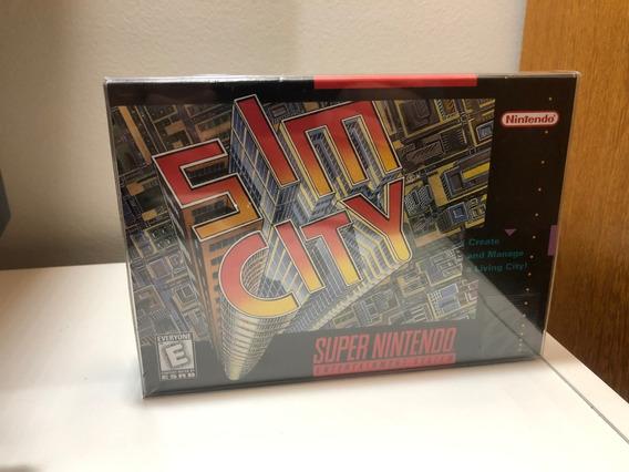 Jogo Sim City Original - Super Nintendo - Snes - Lacrado