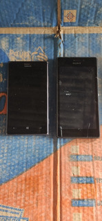 Lote Com Smartphones No Estado Sony LG Samsung Nokia Blu