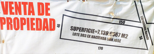 Imagen 1 de 12 de Vendo Terreno De 7,130 M2,atras Delparque Industrial Mitras
