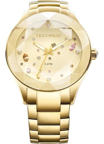 Relógio Technos Feminino Elegance Crystal 2039atdtm/4x