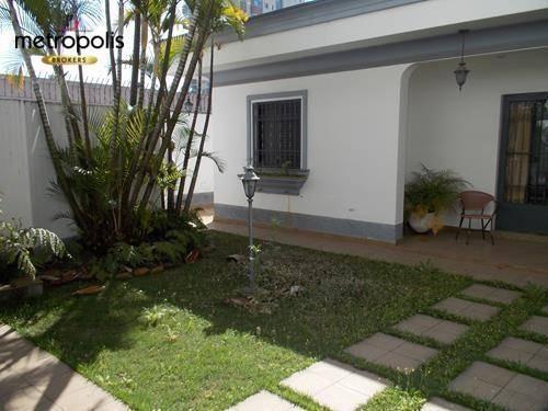 Casa Com 3 Dormitórios À Venda, 390 M² Por R$ 2.500.000,00 - Santa Paula - São Caetano Do Sul/sp - Ca0252