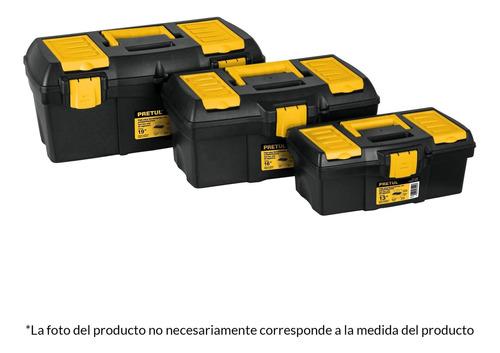 Caja Herramienta Con Compartimentos 19'' Pretul 20604