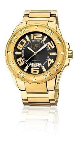 Relógio Analogo Everlast E626 Dourado