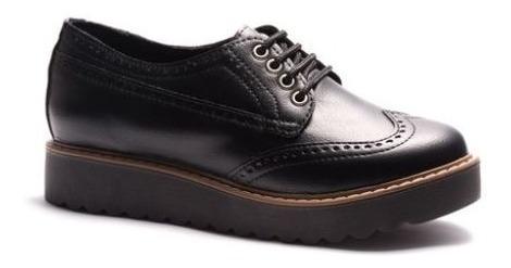 Zapato Savage Jm-55 Pu Negro