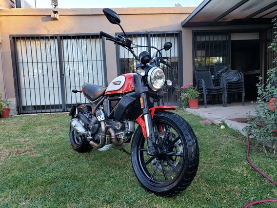 Ducati Scrambler Icon 800 Nueva 2018 Permuto