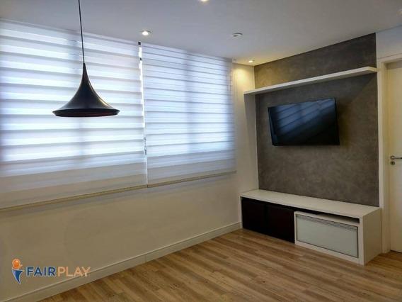 Apartamento 1 Dormitorio Reformado Em Santo Amaro - Ap5194