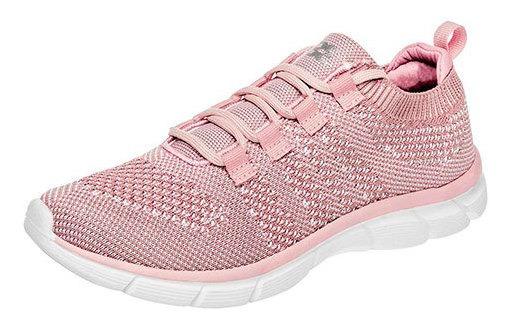 360 Tenis Ejercicio Textil Mujer Rosa Textura C22497 Udt