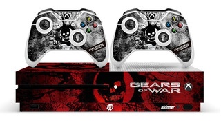 Xbox One S Skin Pegatina Gears Of War