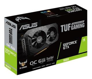 Tarjeta De Video Asus Tuf Gaming Gtx 1660 6gb 192bits Nvidia