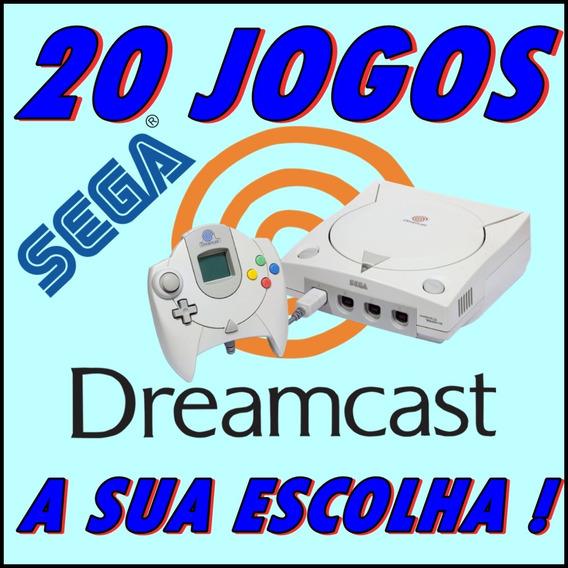 20 Jogos Patch Dreamcast - A Sua Escolha