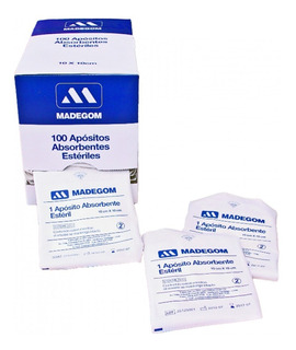 Apósitos Absorbentes Estériles 10cmx10cm