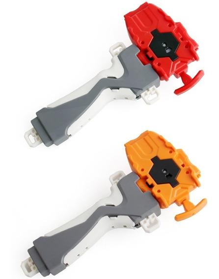 1 Grip Punho Beyblade Burst Launchergrip+ Lançador Com Corda