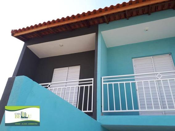 Casa Com 2 Dormitórios À Venda, 65 M² Por R$ 230.000 - Residencial Santo Antônio - Franco Da Rocha/sp - Ca0402