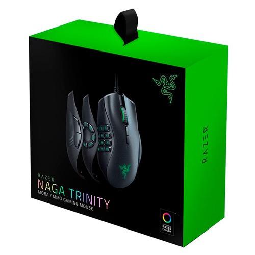 Mouse Razer Naga Trinity Moba/mmo Chroma 16.000dpi Lacrado