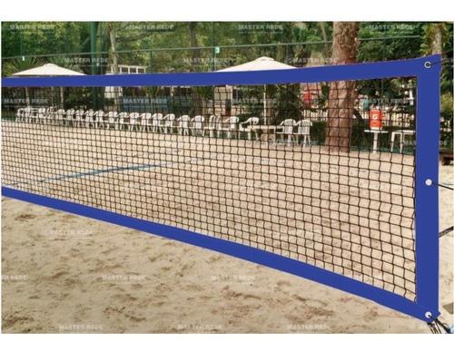 Imagem 1 de 1 de Rede De Beach Tennis Master Rede Oficial - Azul