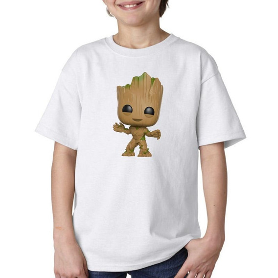 Remera Niño Niña I Am Groot Baby Avengers Vengadores M1