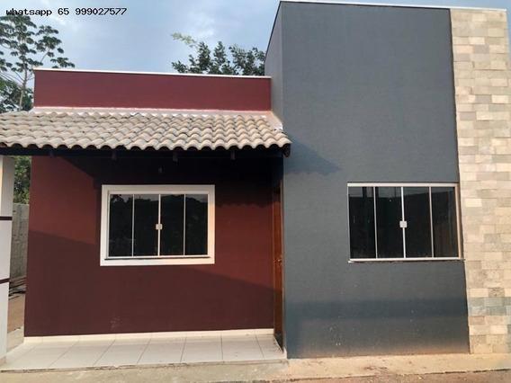 Casa Para Venda Em Cuiabá, Osmar Cabral, 2 Dormitórios, 1 Banheiro, 3 Vagas - 53_1-1214695