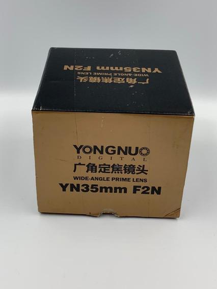 Lente Yongnuo Yn35mm F2n Para Nikon B3