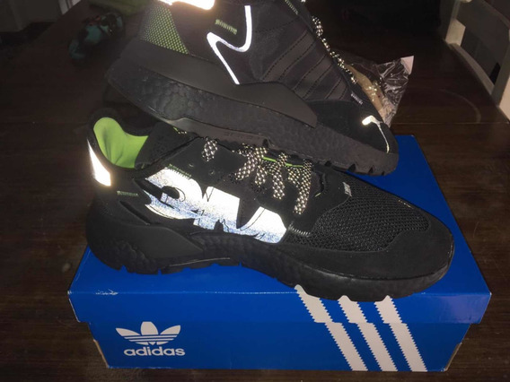 adidas Nite Jogger Black 3m Edicion Limitada