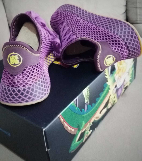 Tênis adidas Dragon Ball Z Deerupt Gohan Roxo Size 8.5 -40