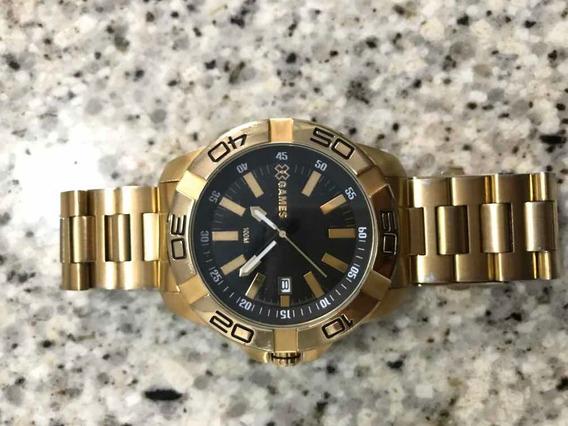 Relógio X-games Dourado