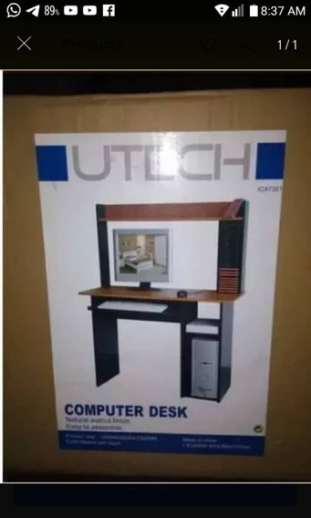 Mesa De Computadora Utech Nueva En Su Caja