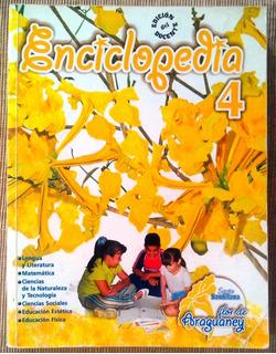 Libro Escolar Enciclopedia 4 Santillana