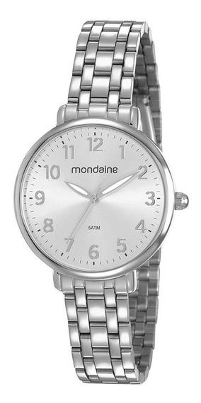 Relógio Mondaine Feminino Aço Médio 53779lomvne3
