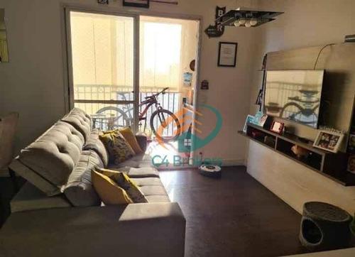 Apartamento Com 3 Dormitórios À Venda, 83 M² Por R$ 555.000,00 - Vila Augusta - Guarulhos/sp - Ap4129