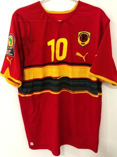 Camisa Angola Copa Nações Africanas 2010 Zuela #10