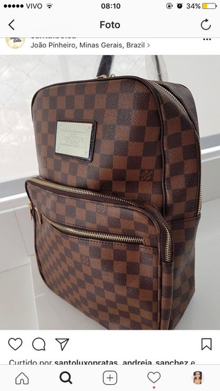 Mochila Ebene Louis Vuitton Premium