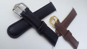 2 -pulseiras De Relógio Em Couro Leve 2 Pague 1