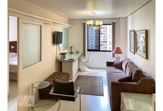 Apartamento Para Aluguel - Moema, 1 Quarto, 37 - 893069600