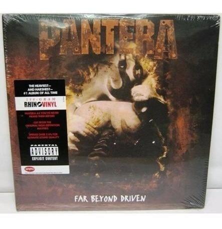Pantera - Far Beyond Driven 20th Annivers - 2 Lp Vinyl - W