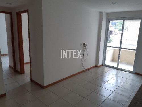 Ótimo Apartamento Para Venda Com Varanda Dois Quartos Suite E Garagem Em Pendotiba - Ap01208 - 69277760