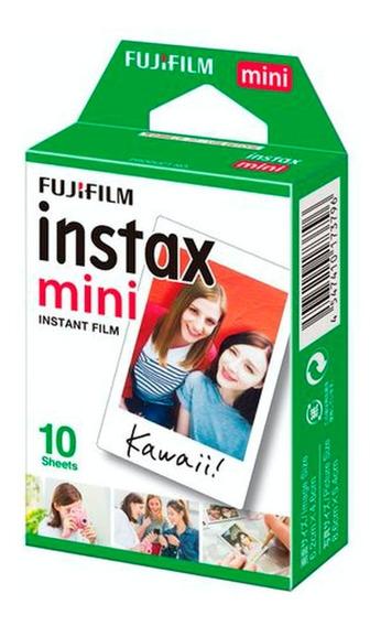 Fujifilm Instax Mini Pack 10 Hojas Instantanes Fotos