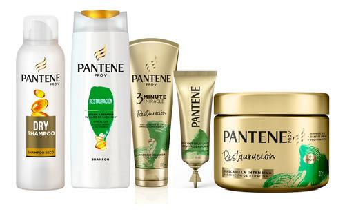 Combo Shampoo, Acondicionador, Mascarilla, Shampoo Seco, Y A