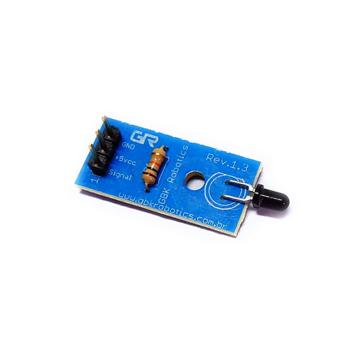 Modulo Sensor De Chamas P22 001189 Gbk Robotics Arduino