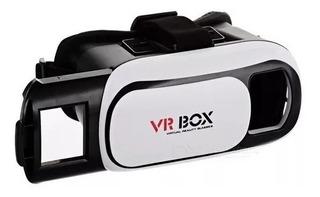 Vr Box 2.0 Anteojos 3d Realidad Virtual Gafas Casco P/ Celu
