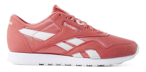 Zapatillas Reebok Moda Cl Nylon Color Mujer Co/bl
