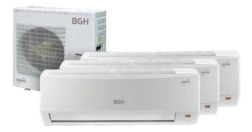 Imagen 1 de 1 de Aire acondicionado BGH Silent Air multi split inverter frío/calor 2300 frigorías blanco 220V BMSIE23CHXCI