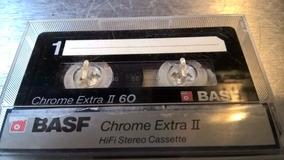 Duas Fitas Cassete Basf Cromo Extra De Diferentes Modelos!