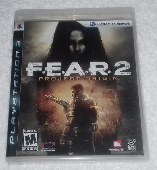 Fear 2 Project Origin Ps3 ** Frete Gratis Leia
