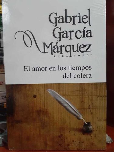 Libro El Amor En Los Tiempos Del Cólera Gabriel García Márqu