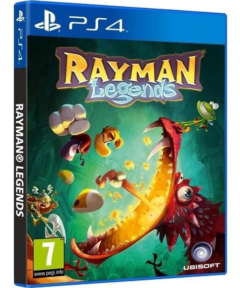 Game Rayman Legends Ps4 Disco Fisico Novo Original Português