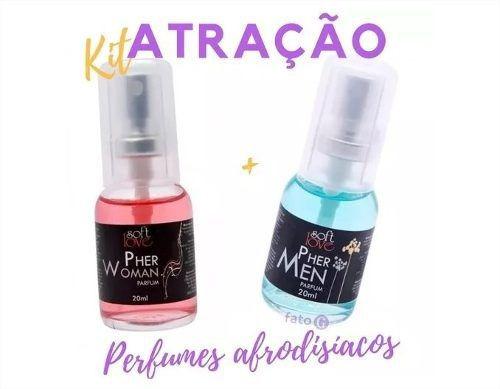 Kit Ele E Ela Perfumes Pher Woman E Pher Men Presente